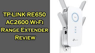 TP-LINK RE650 AC2600 Wi-Fi Range Extender Review