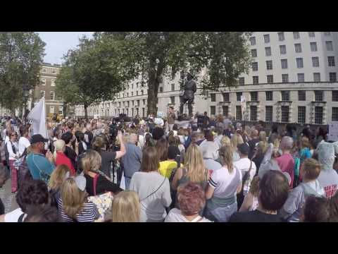 Speech from Simon Jones from Helping Rhinos charity at the Global March for Elephants & Rhino,