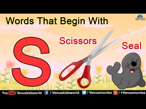 Words That Begin With 'S'