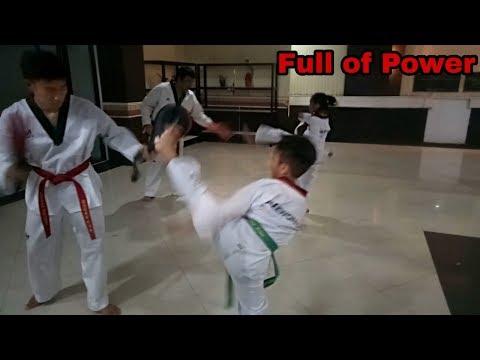 Taekwondo practice | latihan kusus | club kreasi prima