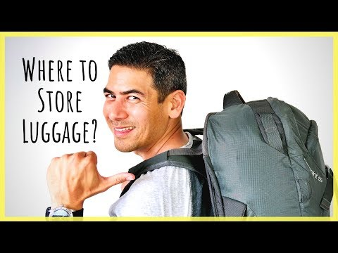 How To Store Luggage After Your Airbnb Checkout | Services To Hold Your Bag While Traveling