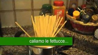 """Fettuccine Con Le Zucchine Alla """"petrosino"""""""