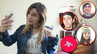 IMITANDO MUSICAL.LYS DE YOUTUBERS | Lyna Vlogs