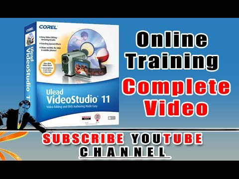 Complete Ulead Video Studio11.0 Presentation About Video Editing Features.