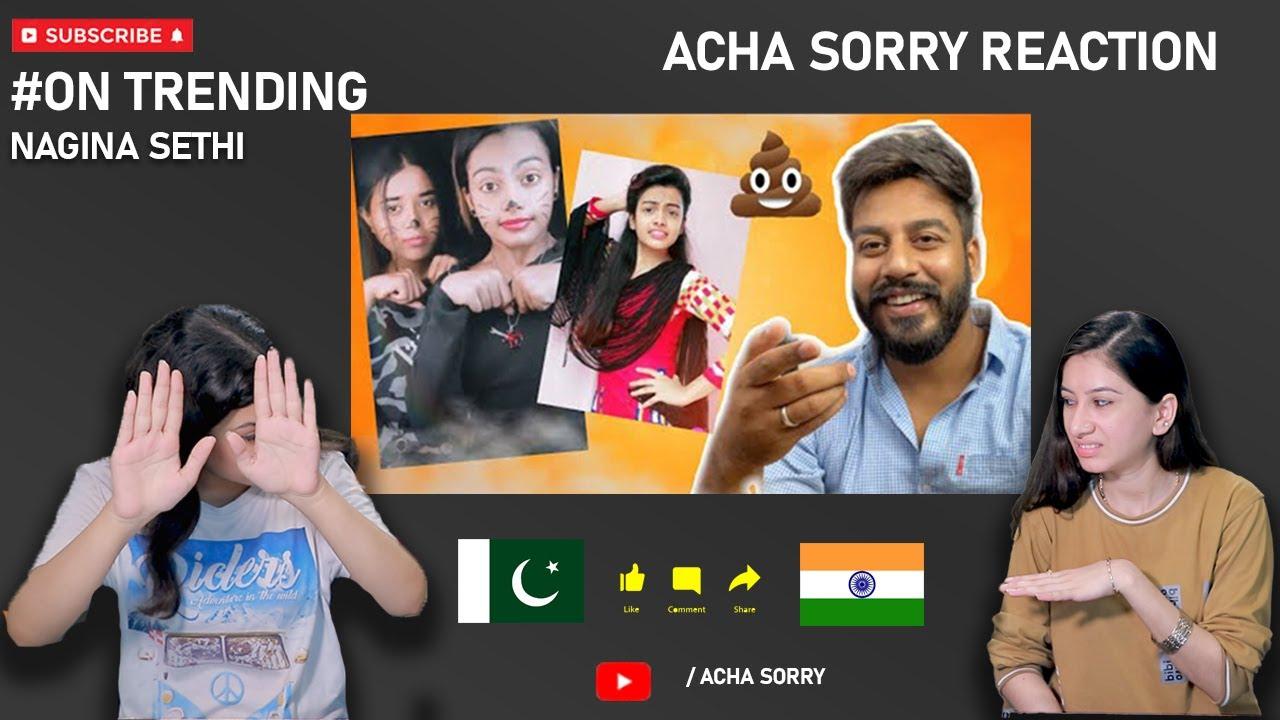 Beauty Khan Roast REACTION   Nagina Sethi   ACHA SORRY REACTION  