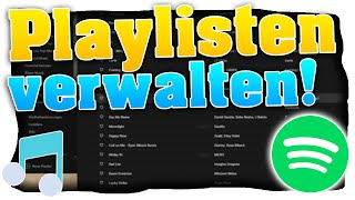 Spotify Playlist erstellen / bearbeiten! (Bild ändern) | Handy / PC - (Tutorial) 2020 🎄