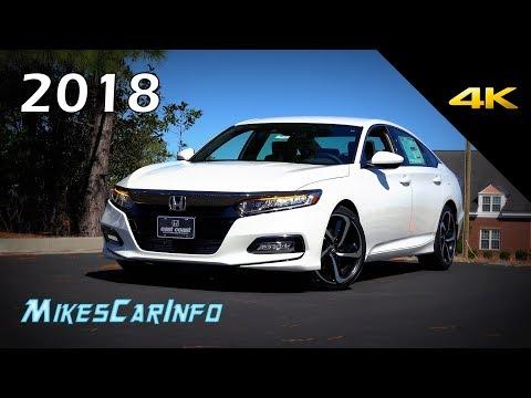 2018 Honda Accord Sport - Ultimate In-Depth Look in 4K