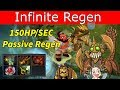How to make yourself unkillable in Dota 2 - THE INFINITE HEALTH REGEN BUILD!