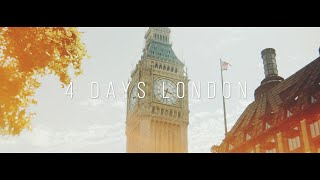 4 Days in London - Sony A7s Anamorphic / Timelapse - Hyperlapse
