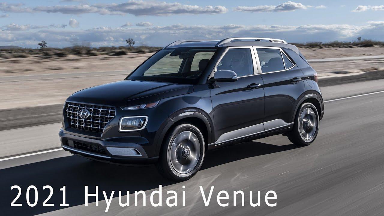 Interior Hyundai Venue 2021