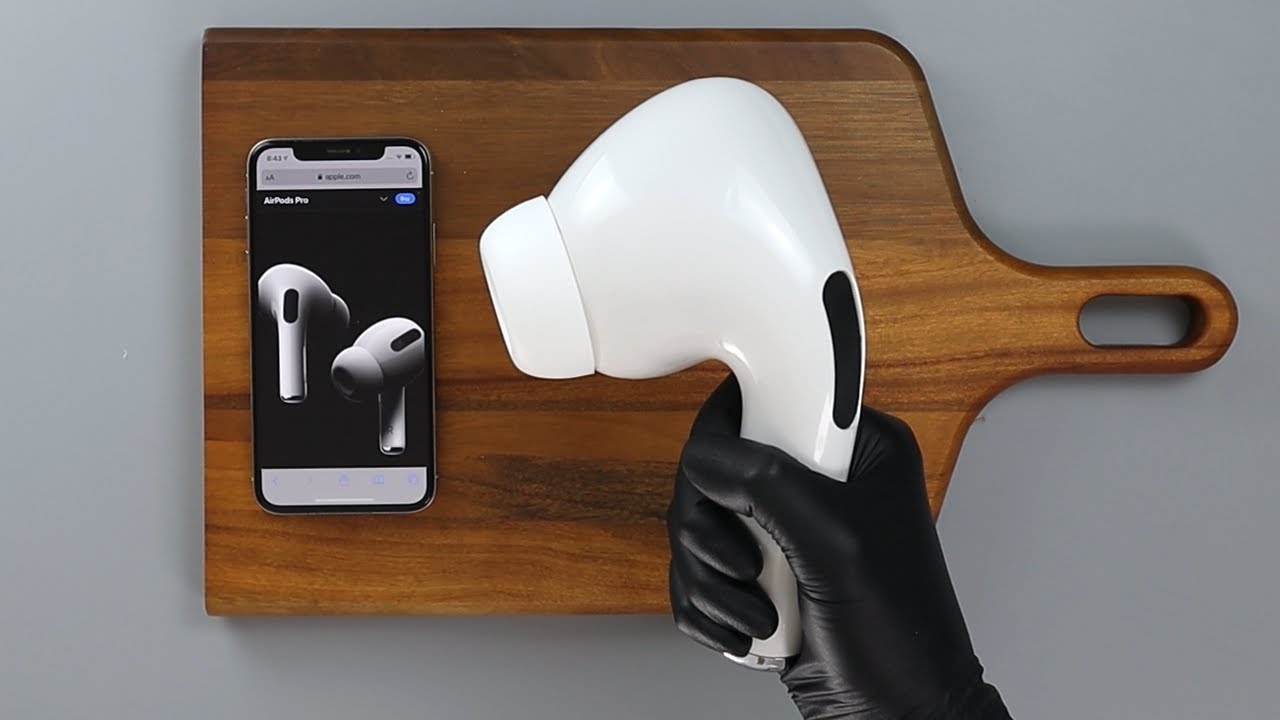 Giant Airpods Pro Unboxing ASMR