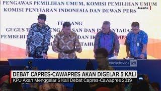 Download Video Debat Capres-Cawapres Akan Digelar 5 Kali MP3 3GP MP4