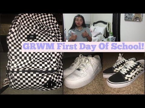 GRWM 1st Day Of School (6th)✏️||Cynthia Mondragon