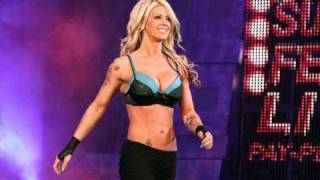 Angelina Love New Theme Linkin Park papercut Remix
