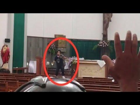 Gereja St Lidwina Sleman Diserang