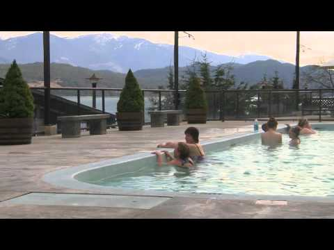 Soaking In Ainsworth Hot Springs