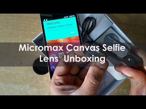 Micromax Canvas Selfie Lens Unboxing | Review | Micromax Mobile Features