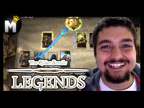 HEARTHSTONE DA BETHESDA - The Elder Scrolls: Legends