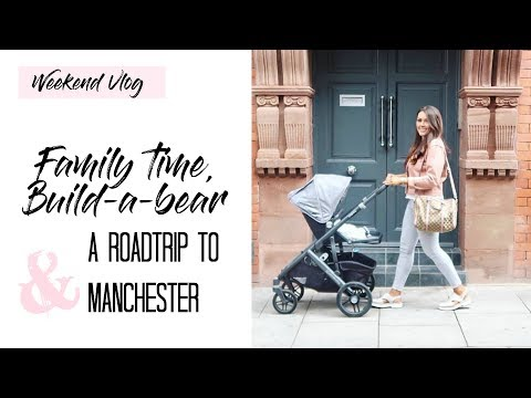WEEKEND VLOG + A ROAD TRIP TO MANCHESTER | MAMA REID