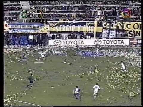 Boca Juniors vs Cruz Azul 2001 1/2 - Partido
