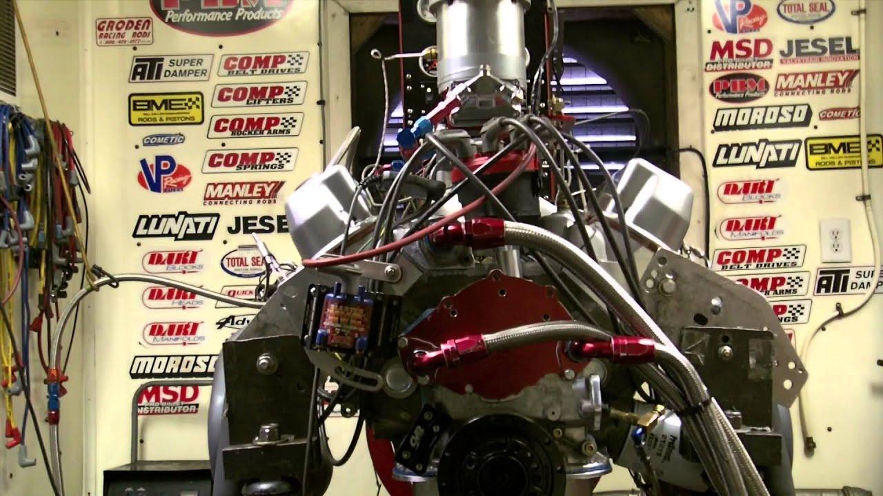 Dean Capuano - 440 CI SBF Dyno pull