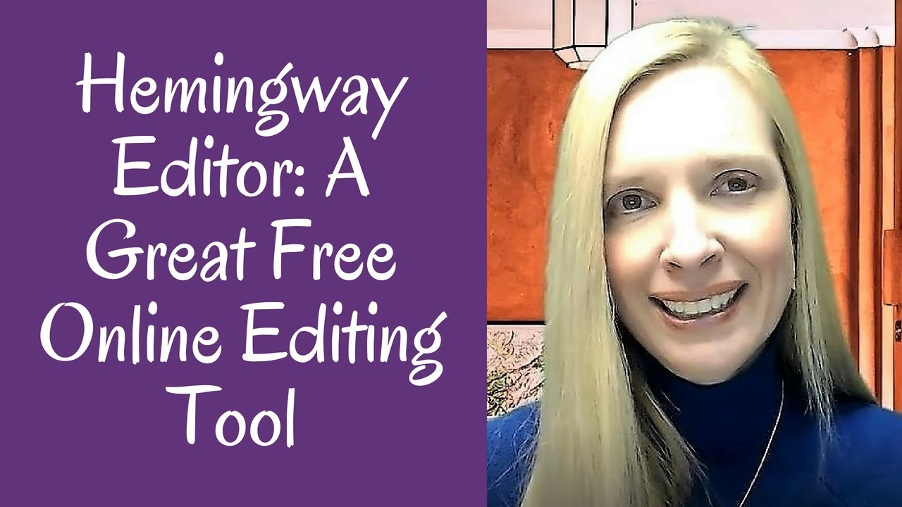 Hemingway Editor A Great Free Online Editing Tool Youtube