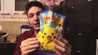 Pokemon Food Tasting Pikachu Popcorn und mehr 7500 Abonnenten Special deutsch