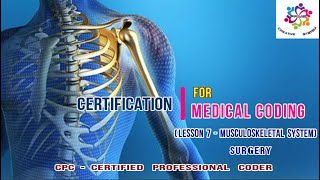 #CPC #Certification #Training #Musculoskeletal #System | in #Surgery | by PPMP Creative System