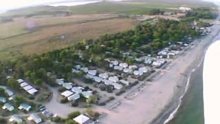 Camping Aleria - Sommerurlaub Korsika 2011 - Luftaufnahmen