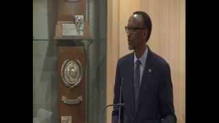 President Kagame speaking at Brandeis University in Boston- 23 April 2014 (1/2)
