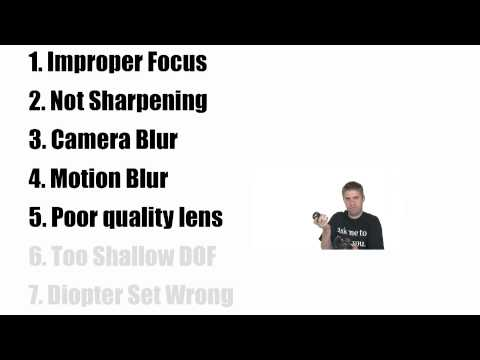 How to Take Sharper Pictures
