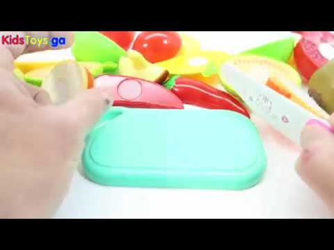 Food And Cooking At Toys R Us : Toys r us toy cutting fruits and vegetables velcro cooking playset