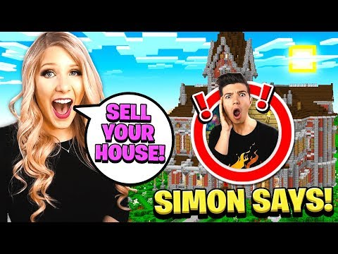 NEVER PLAY SIMON SAYS IN THIS GIANT MINECRAFT HOUSE!