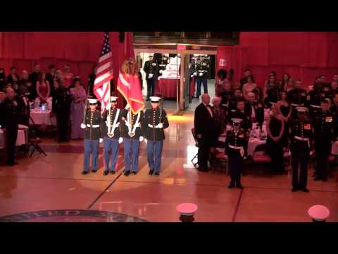 MCIEAST-MCB CAMLEJ 240th USMC Birthday Ball Ceremony