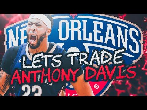 TRADING ANTHONY DAVIS! NEW ORLEANS PELICANS REBUILD! NBA 2K19