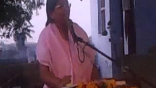 Anandeshwar Mandir me Sachcha Baba ki Katha Karti hui Guru Maa 4