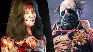 DEAD Y DAYLIGHT - Curtain Call Gameplay Trailer  Clown & Kate Denson (PS4, XB, PC)