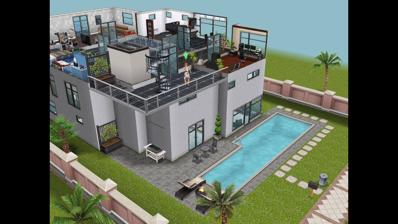The Sims Freeplay Part Iv Dream House Basements