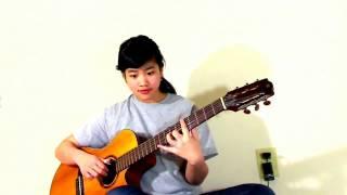 Tình Bơ Vơ (Cover Virginia Nguyen - Bé Mẫn) Guitar Solo