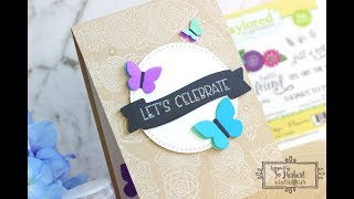 Craftie Cafe: Taylored Expressions Flower Card