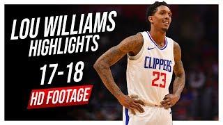Clippers SG Lou Williams 2017-2018 Season Highlights ᴴᴰ