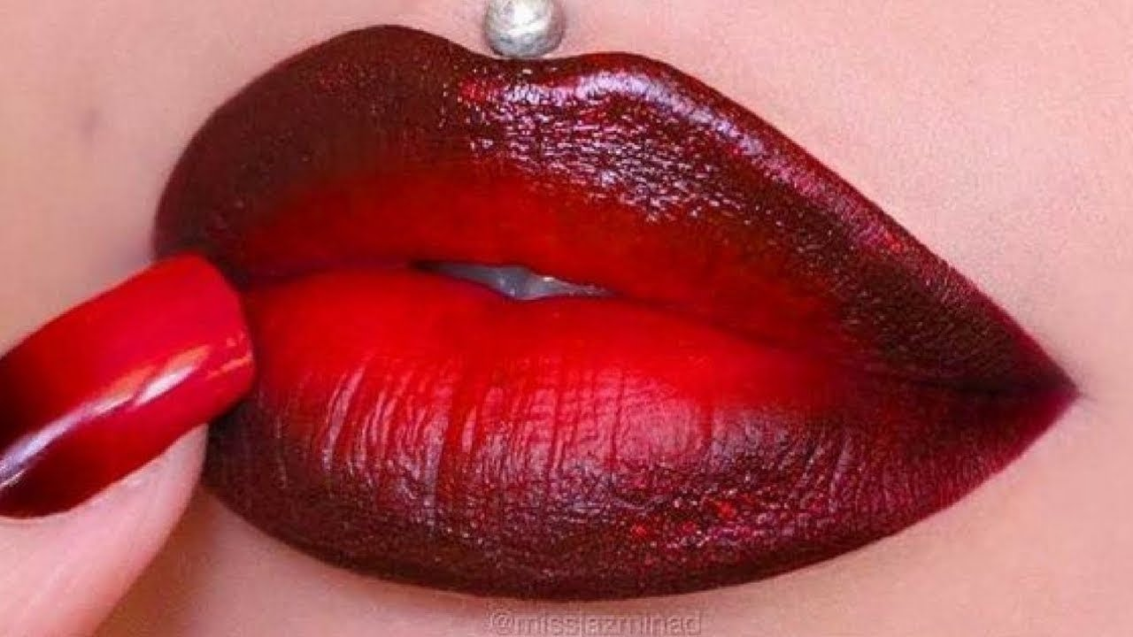 20 Easy Red Lipstick Tutorial 2019 Trendy Lip Art Ideas For Stylish Ladies Youtube
