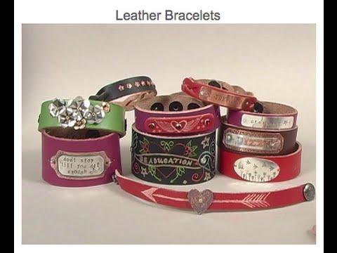 Leather Bracelets - Beaducation.com