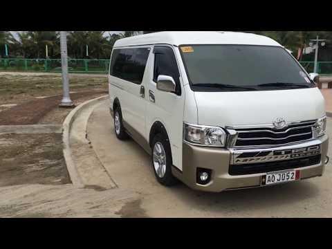 Toyota Hiace 6th Generation >> Видео toyota hiace commuter 2017 philippines