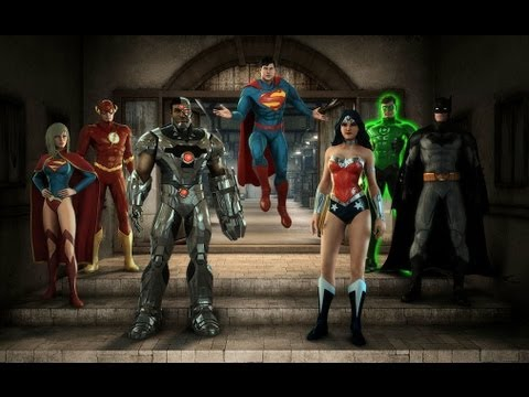 Justice League : Alien Invasion 3D ride-through at Warner Bros. Movie World