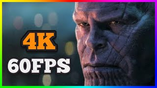[4K/60FPS] Avengers - Infinity War | Official Trailer | 2018