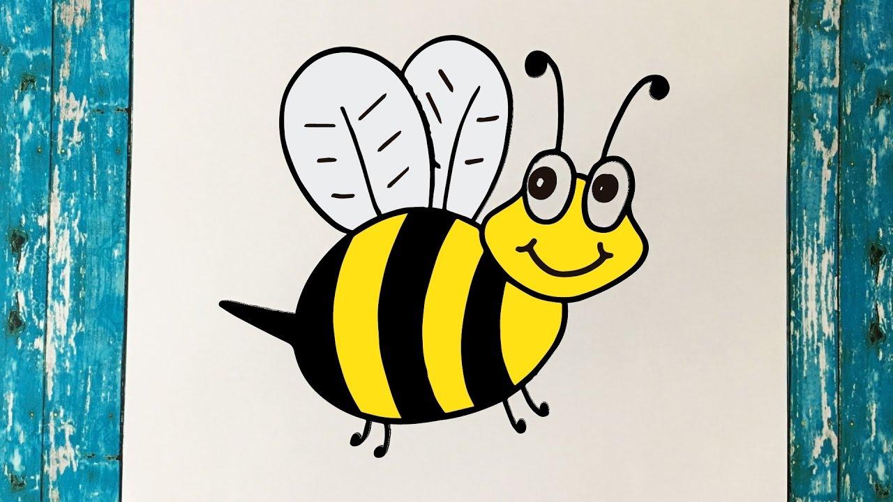 C mo dibujar una abeja paso a paso f cil y r pido how for Sillas para dibujar facil