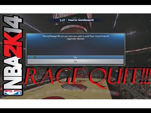 NBA 2K14 | CHARLOTTE BOBCATS | LIVE COMM | RAGE QUIT | ONLINE RANKED MATCH