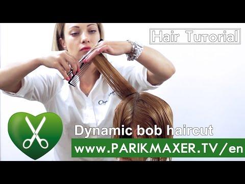 Dynamic bob haircut | Hair inspiration ♛♛♛ parikmaxer TV USA