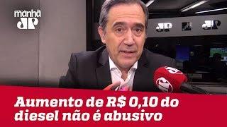 Aumento de R$ 0,10 do diesel não é abusivo | #MarcoAntonioVilla